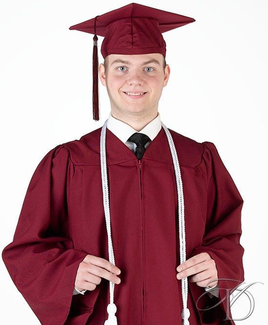 Boy in Cap and Gown