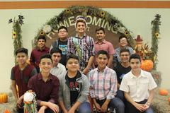 2017 - 2018 Homecoming King candidates