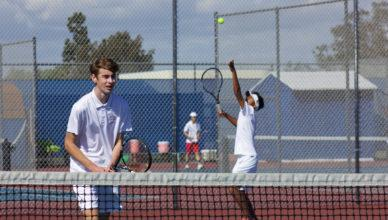 Boys' tennis slams Sunset League with a first place title Featured Photo