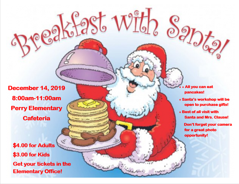 Breakfast with Santa! Thumbnail Image