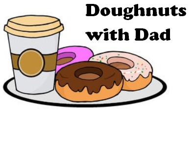 Doughnuts with Dad 10/17/19 8:00 - 8:30 a.m. Featured Photo
