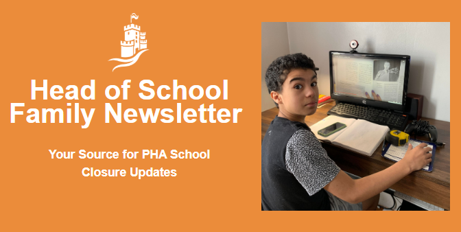 Head of School Family Newsletter 5/8/2020 Featured Photo