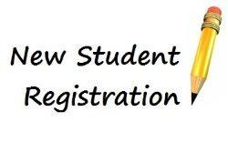 new student registration picture