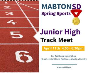 Image, Spring Sports Junior High Track Meet
