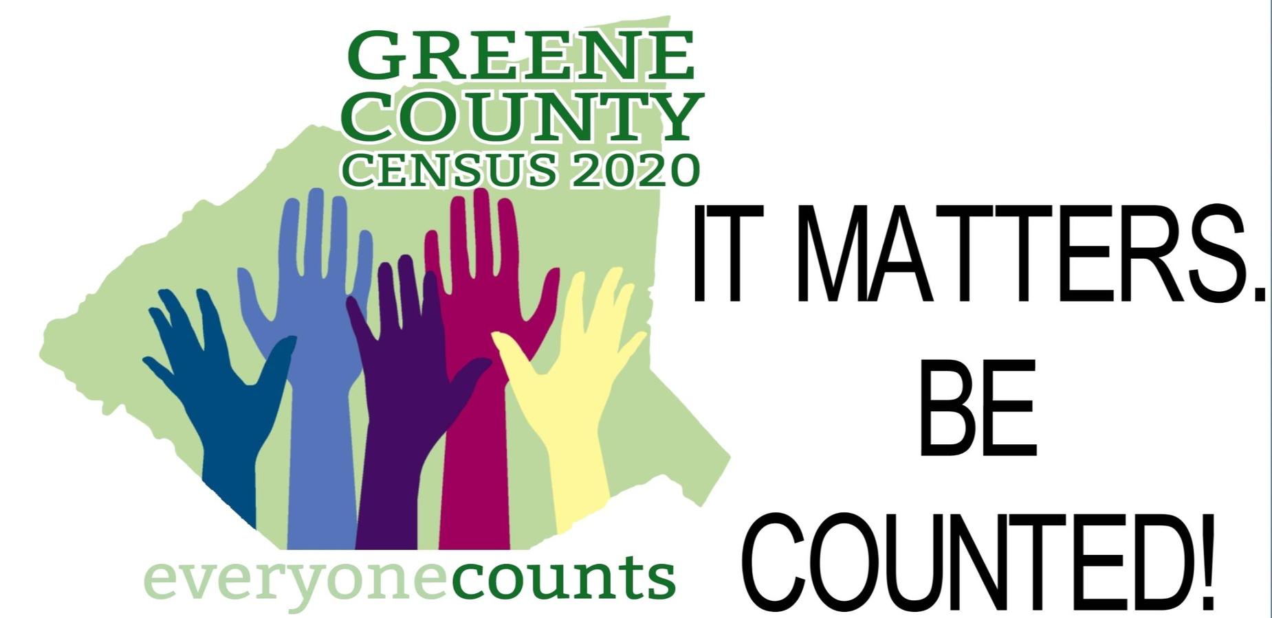 Census 2020- be counted!