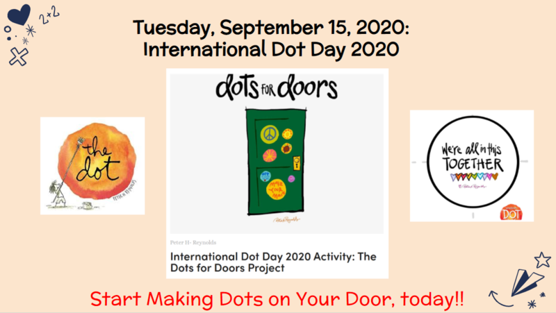 National Dot Day SEL Challenge Featured Photo