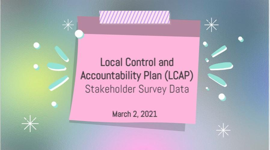 20-21 LCAP Stakeholder Survey Data