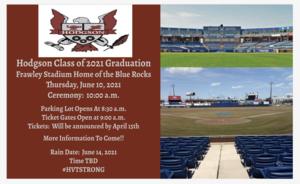 Graduation 2021 Flyer