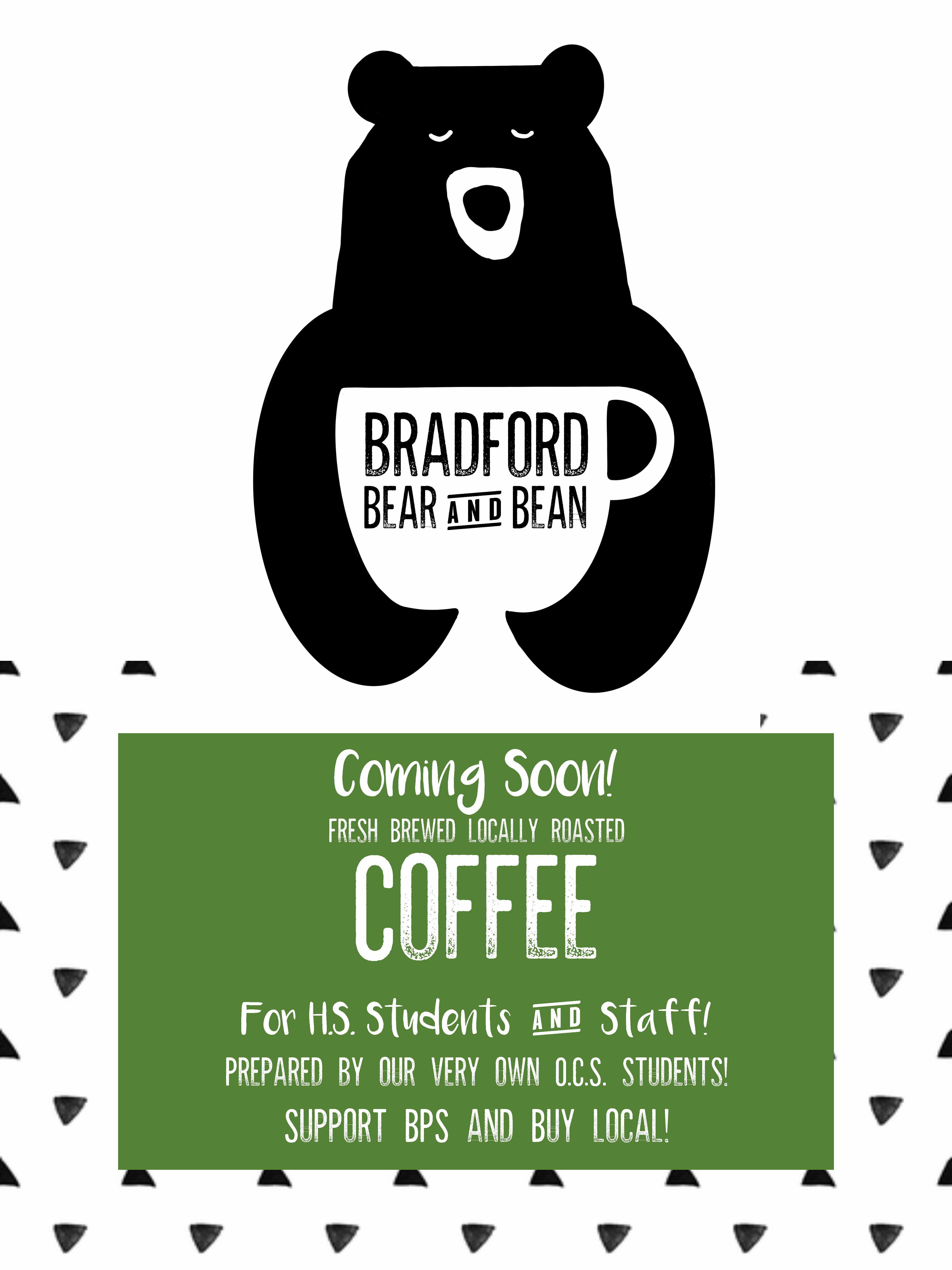 Bear and Bean Coffee Cart