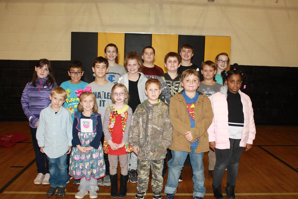 Oct students of the month