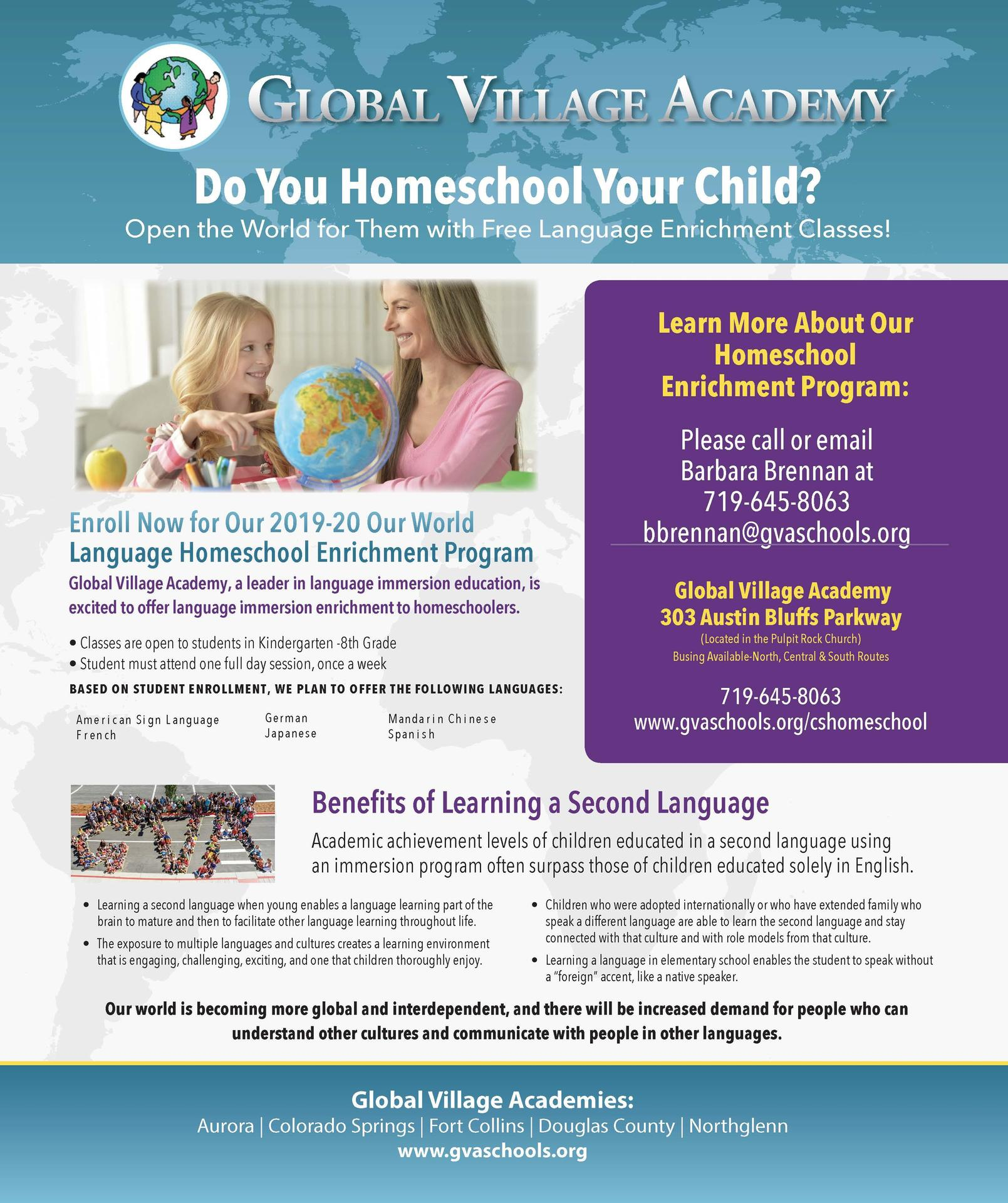 homeschool information that can be found on homeschool flyer pdf