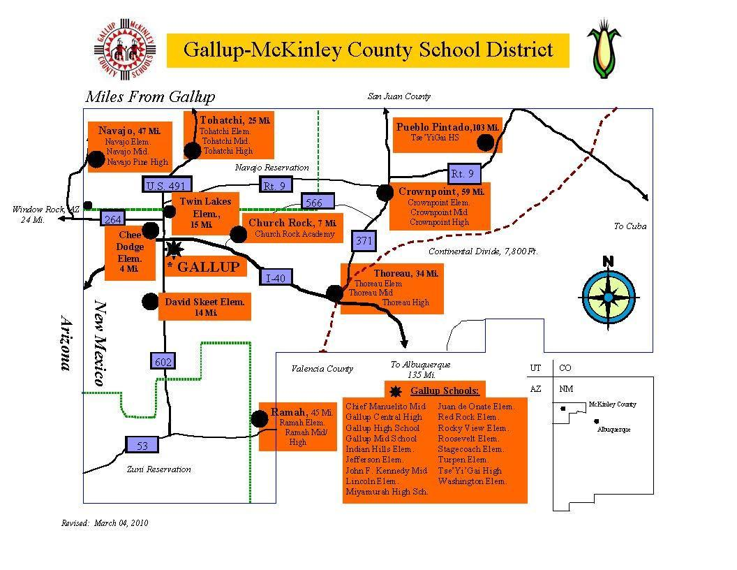 GMCS District Map