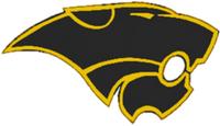 Black & Gold Vela Middle School Panther