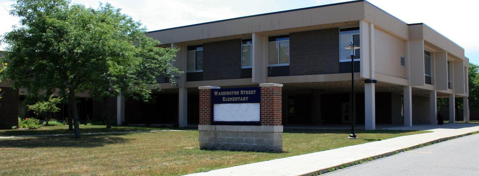 Exterior of Washington Street Elementary