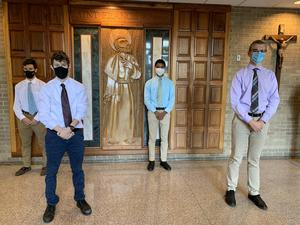Xavier High School of Middletown has 4 Commended Students for 2020-2021 School Year