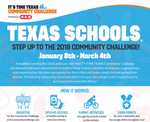 It's Time Texas, HEB Community Challenge