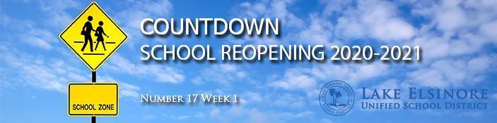 Masthead: Countdown No 17 Week 1_English