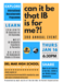 image of january 16th ib talk flyer in english
