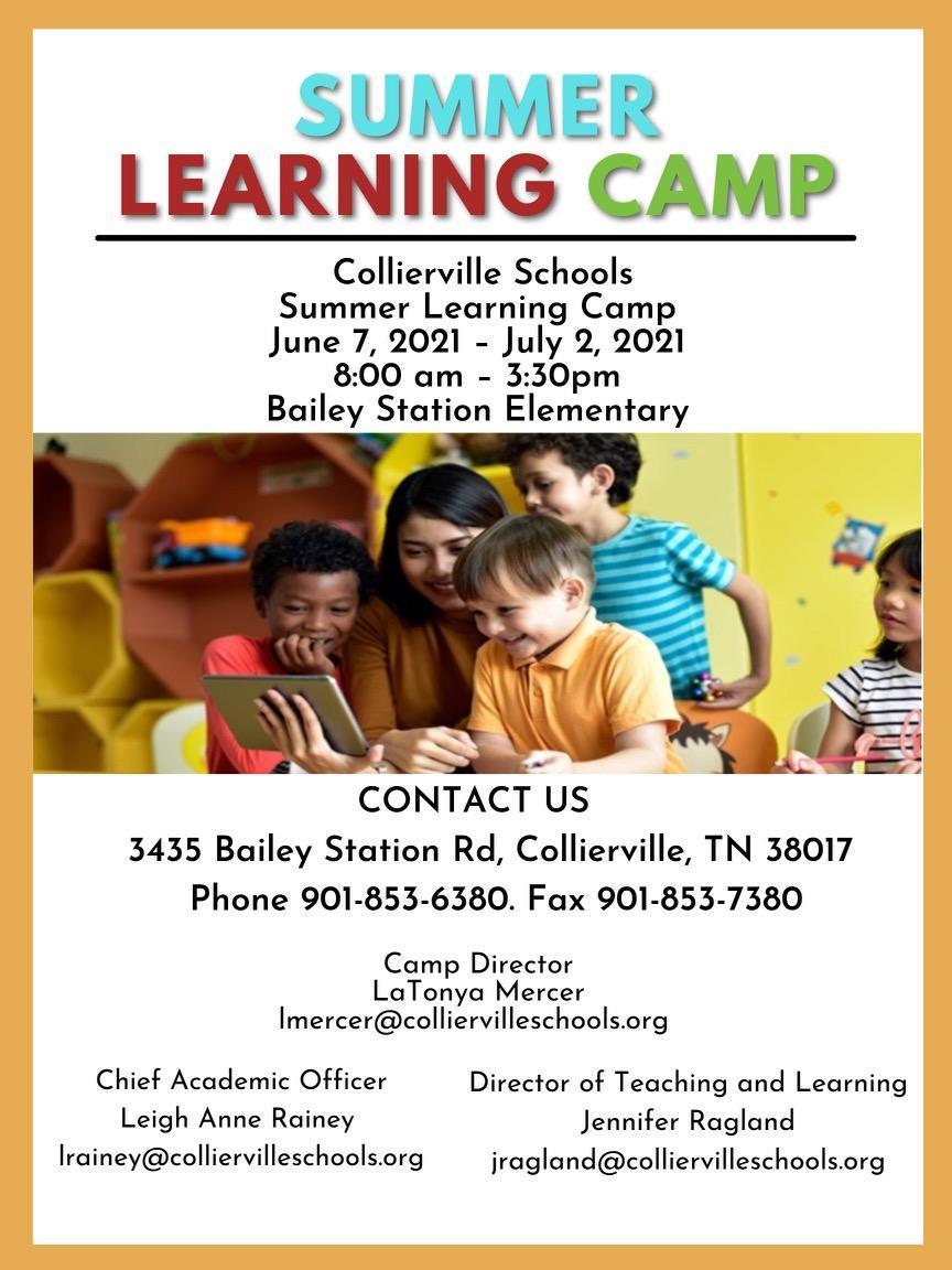 Summer Learning Camp Basic Info