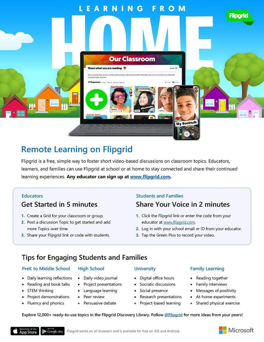 FLIP GRID REMOTE LEARNING