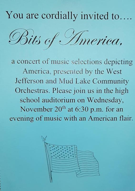 West Jefferson and Mud Lake Community Orchestra