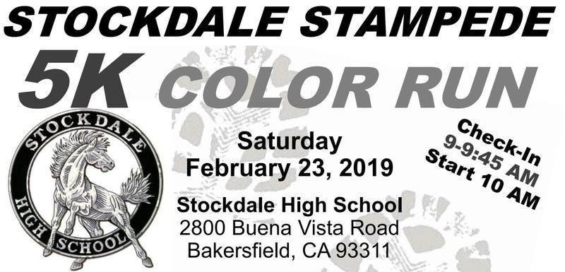 Stockdale Stampede 5K Color Run Thumbnail Image