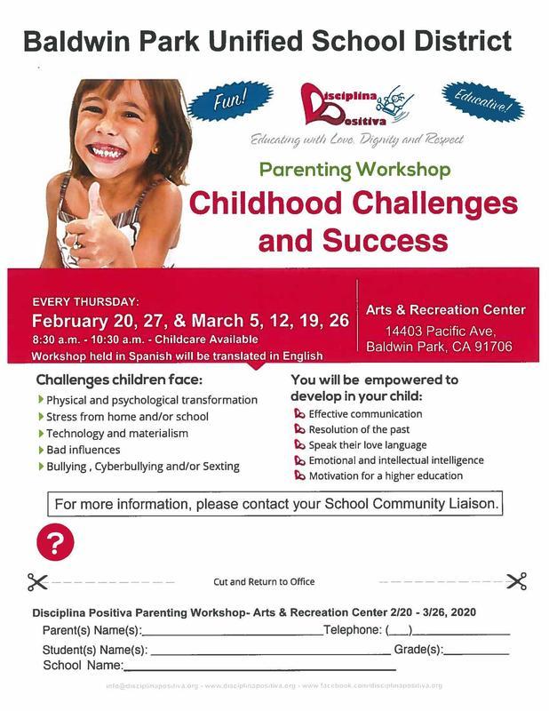 Disciplina Positiva Parent Workshops Featured Photo