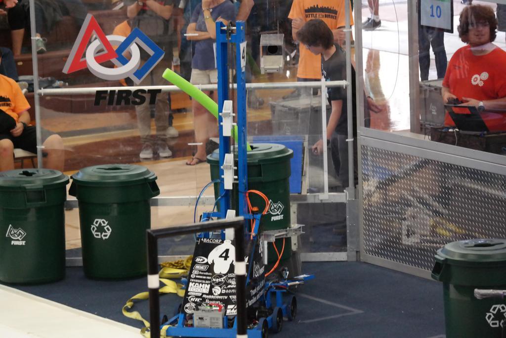 Robot on field