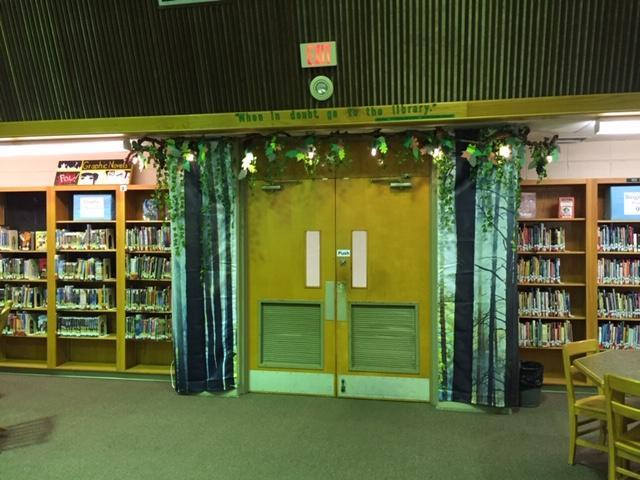 Howell Library Entrance