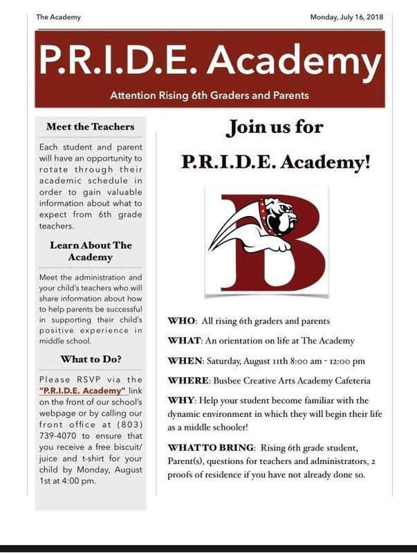 P.R.I.D.E. Academy