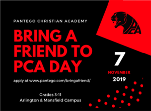 Bring a Friend to PCA Day