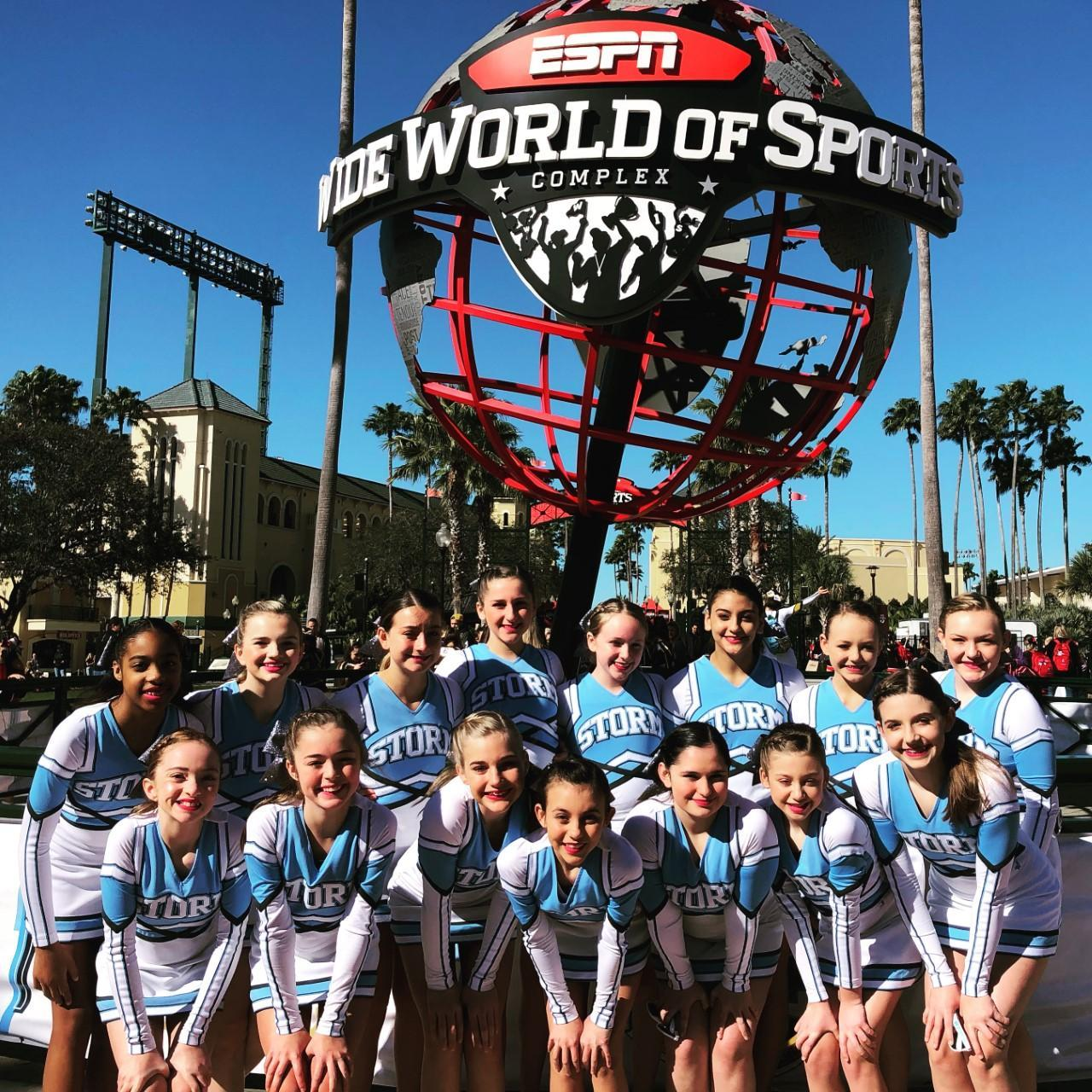 Team at ESPN Wide World of Sports