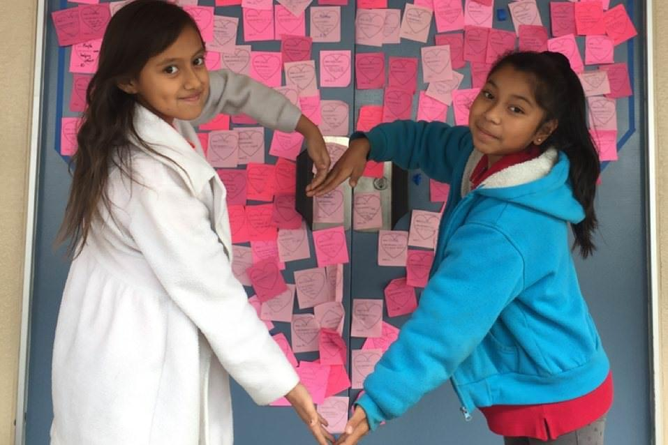 Robert M. Pyles STEM Academy Students Celebrate Random Acts of Kindness