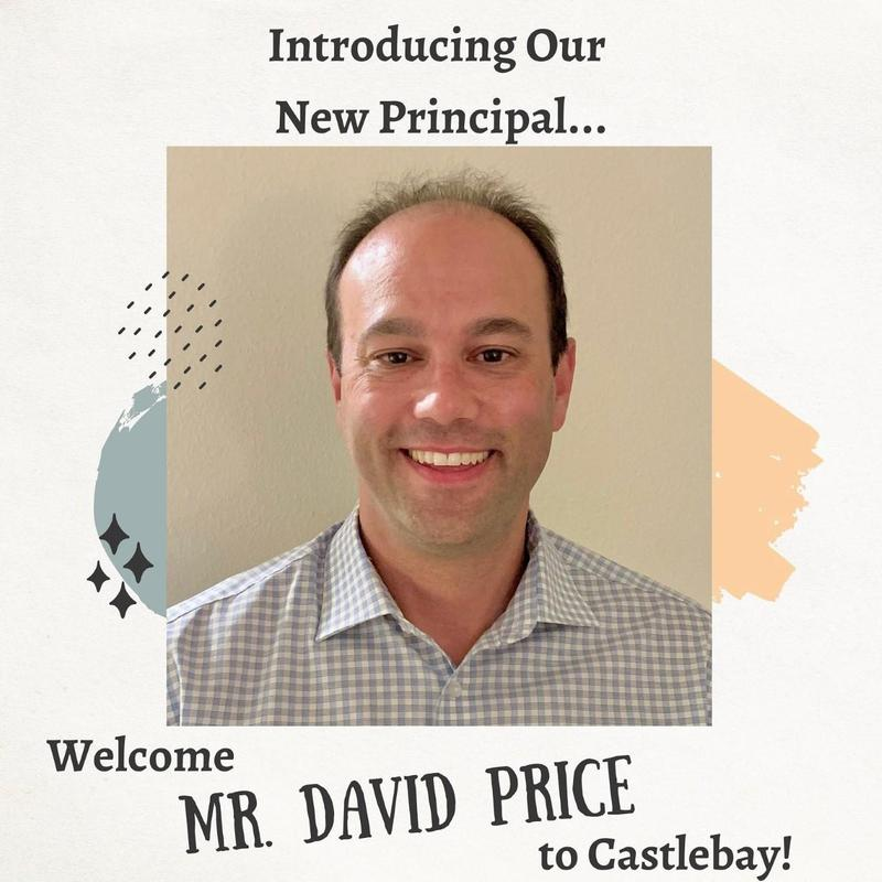 A photo of our new principal, David Price