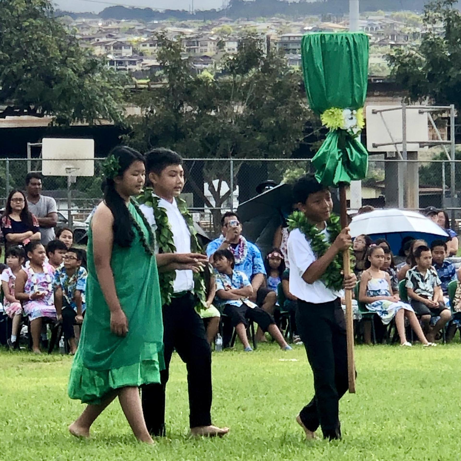 Molokai island princess and escort