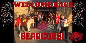 Welcome Back Bearcubs!
