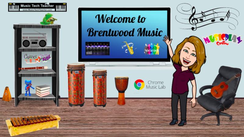 Mrs. Bennett's virtual music classroom