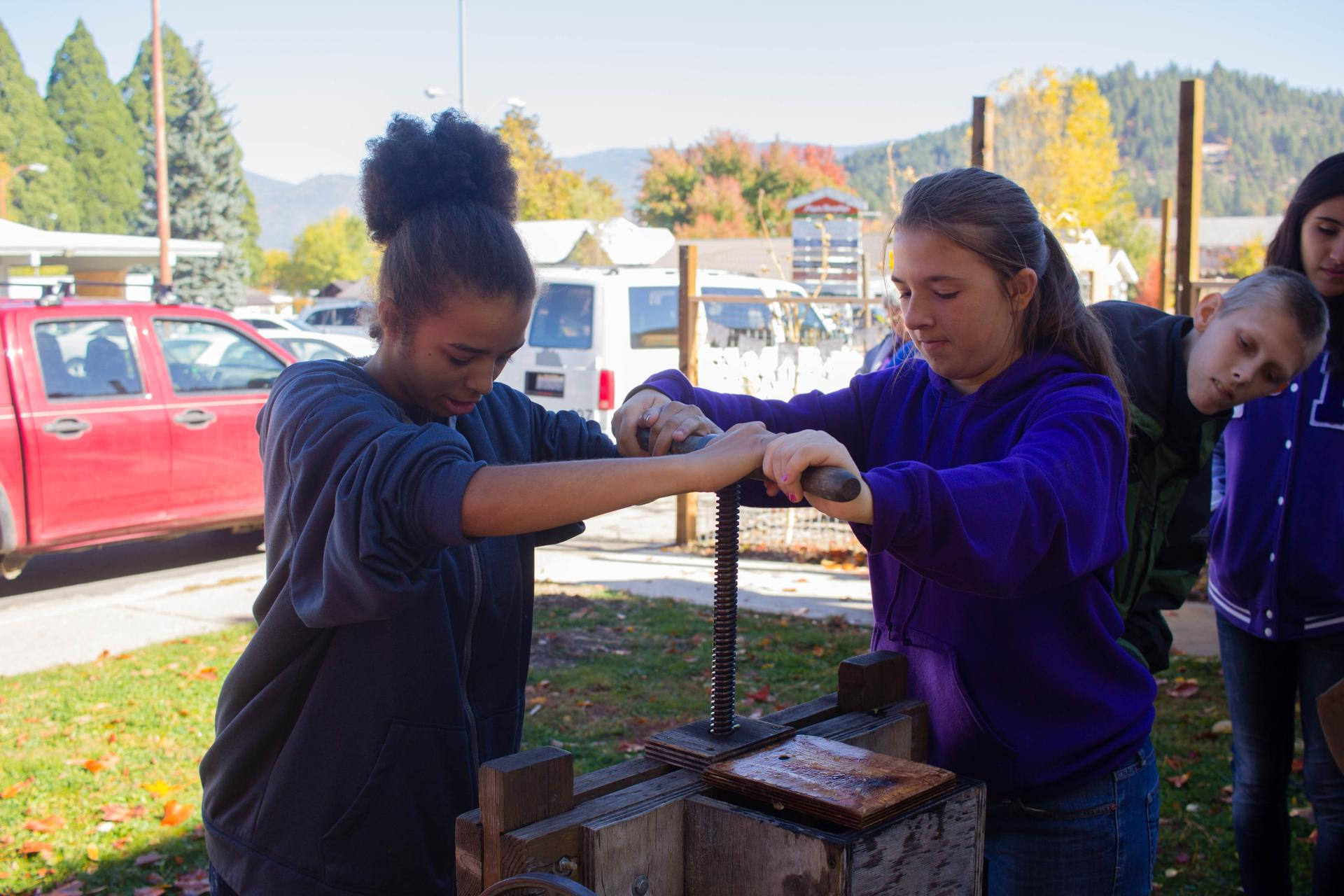 Apple Pressing Activity