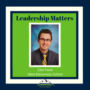 Clint Poole, West Elementary Principal