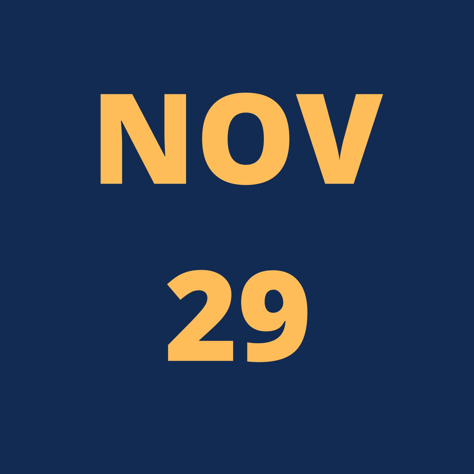 Nov 29 Icon