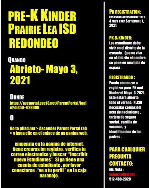 Round Up Flyer_Spanish