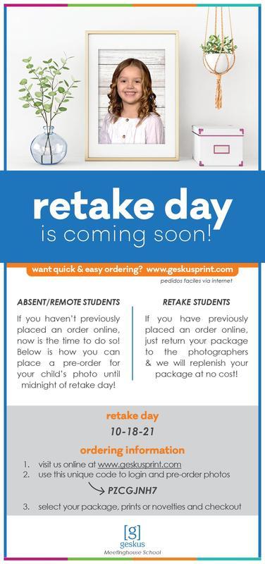 MHS Kindergarten Picture & Retake Day Featured Photo