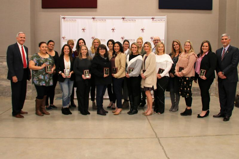 The 2019-20 Parent Leadership committee members were recognized at the January Board meeting.