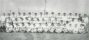 1949 NHS football team