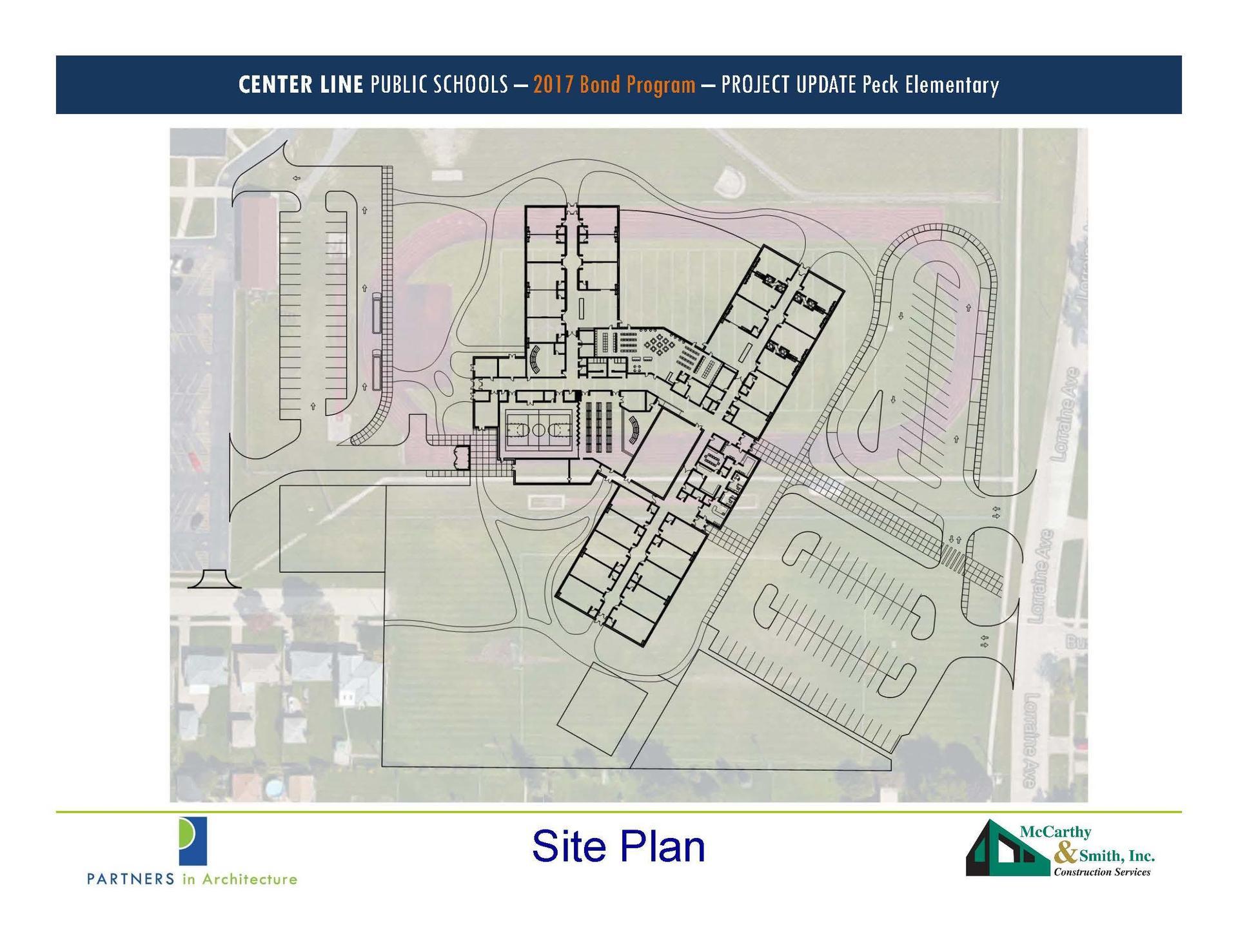 Peck site plan