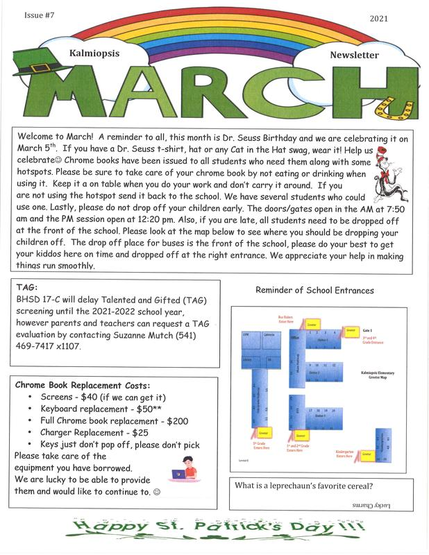 March Newletter