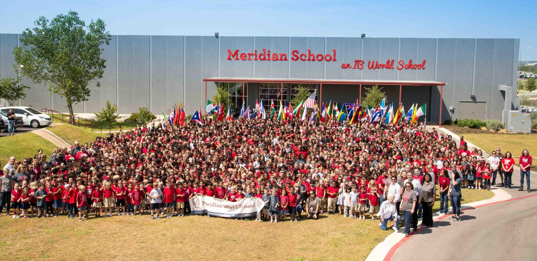 Meridian School slice of life photos
