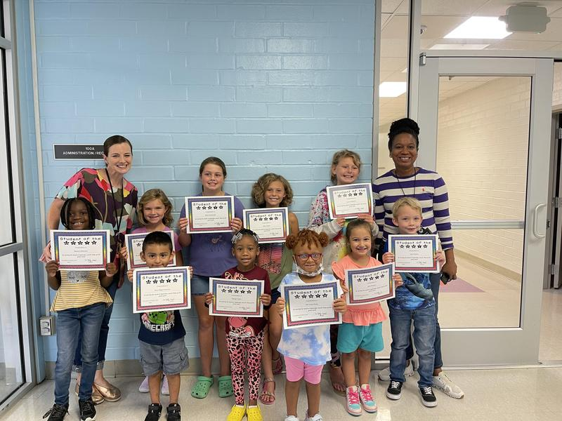 Congratulations to our September Students of the Month Featured Photo