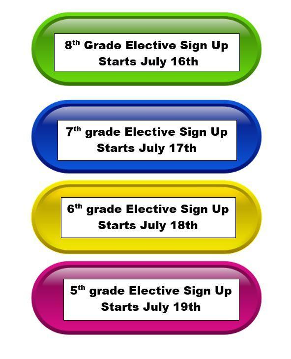 Electives Sign Up Dates Featured Photo
