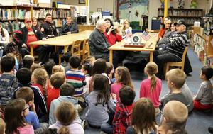 McKinley School 1st graders are excited to welcome and honor family members who served in the U.S. military for a special Veterans Day commemoration on Nov. 12.